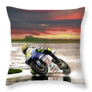 Sunset Rossi Throw Pillow
