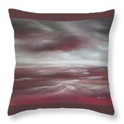Sunset Sea Throw Pillow