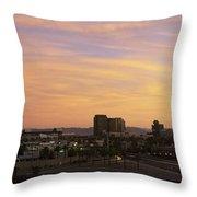 Sunset Skyline Phoenix Az Usa Throw Pillow