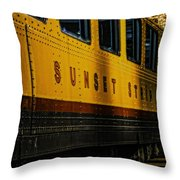 Sunset Strip Throw Pillow