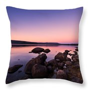 Sunset Sunrise  Throw Pillow