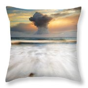 Sunset Talisker Bay Throw Pillow