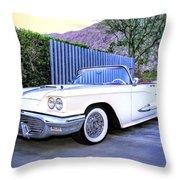 Sunset Thunderbird 2 Palm Springs Throw Pillow