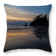 Sunset Tide Throw Pillow