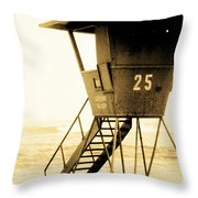 Sunset Tower 25 Throw Pillow