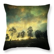 Sunset Trip Throw Pillow