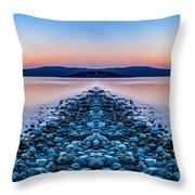 Sunset Way Throw Pillow