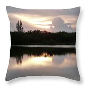 Sunset Whispers Throw Pillow