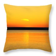 Sunsets Desire Throw Pillow