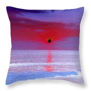 Sunsets On The Water - Photopower 01 Throw Pillow