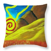 Sunsetting On Dreams Throw Pillow