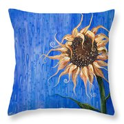 Sunshine After The Rain Throw Pillow