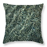Sunshine And Ripples Throw Pillow