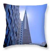 Sunshine On The Pyrimid Throw Pillow