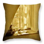 Sunshine Through The Window Throw Pillow