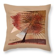 Sunshine Tree Throw Pillow