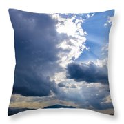 Sunshines In Blackness Throw Pillow