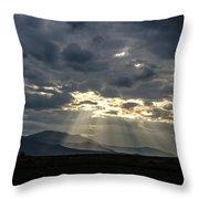 Sunshines Throw Pillow