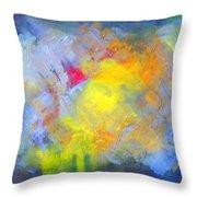 Sunsplash Throw Pillow