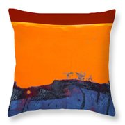 Sunstorm No. 2 Throw Pillow