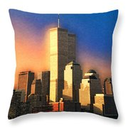 Sunswept Throw Pillow