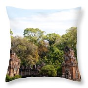 Suor Prat Towers 03 Throw Pillow