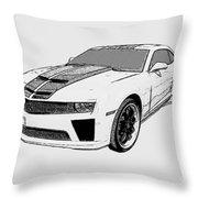 Super Bee Camaro Throw Pillow