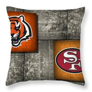 Super Bowl 23 Throw Pillow