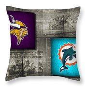 Super Bowl 8 Throw Pillow by Joe Hamilton