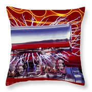 Super Charged Plus Throw Pillow