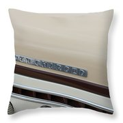 Super Charger Throw Pillow