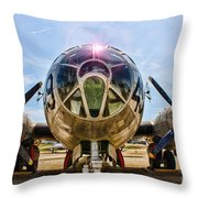 Super Fortress Throw Pillow
