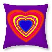 Super Love Throw Pillow