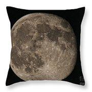 Super Moon 3626 August 2014 Throw Pillow