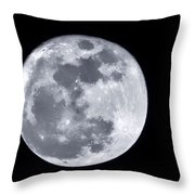 Super Moon Over Arizona  Throw Pillow