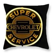 Super Service Throw Pillow