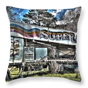 Super Slide Throw Pillow by Ian  Ramsay