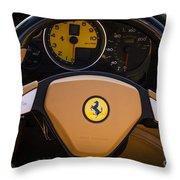 Supercar Dash Throw Pillow