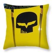 Superhero Carhod Throw Pillow