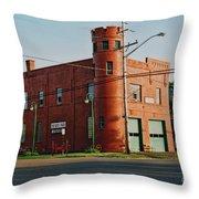 Superior Fire House Throw Pillow