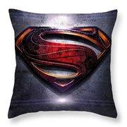 Superman Series 05 Throw Pillow