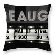 Superman Throw Pillow