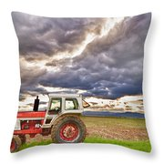 Superman Skies Throw Pillow by James BO  Insogna