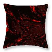 Supernatural Fire Element Throw Pillow