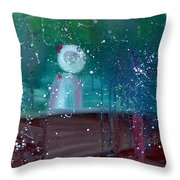 Supernatural Space Throw Pillow