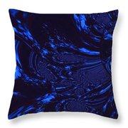 Supernatural Water Element Throw Pillow