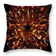 Supernova Throw Pillow by Christopher Gaston