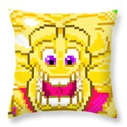 Supernova Nova Blast Throw Pillow