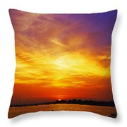 Supersaturated Solution Throw Pillow