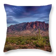 Superstition Twilight  Throw Pillow